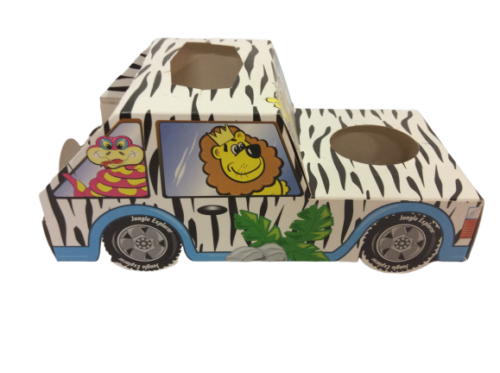 Jungle Safari Wild One Jeep Meal Tray