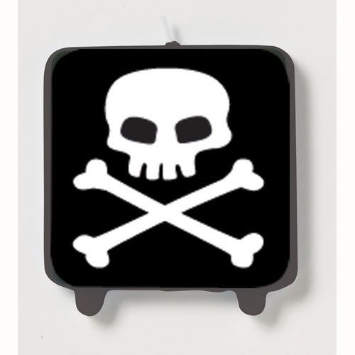 Black pirate candle