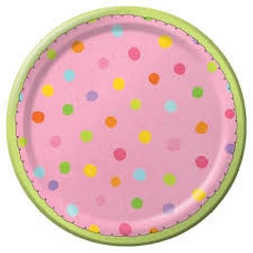 Dots sleepover dessert plates