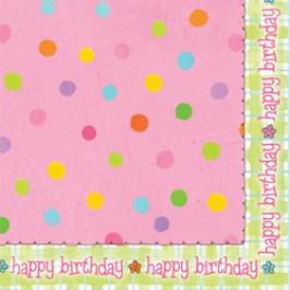 Sleepover Pink Birthday Party Napkins