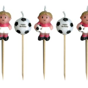 Soccer Boy Candles