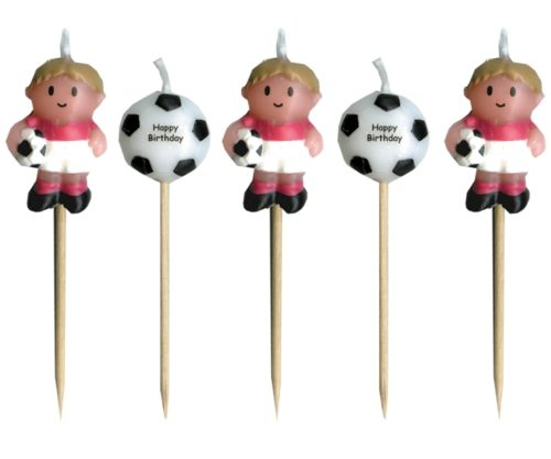 Soccer Boy Candles