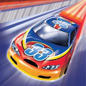 Car Racing Party Napkins