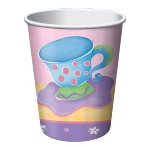 Tea Party Paper Cups