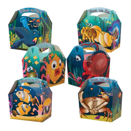ocean sea cupcake loot box