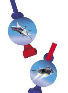 Fighter pilot blowout table decorations