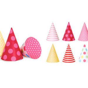 Pink Style Paper Party Hats Paper Eskimo