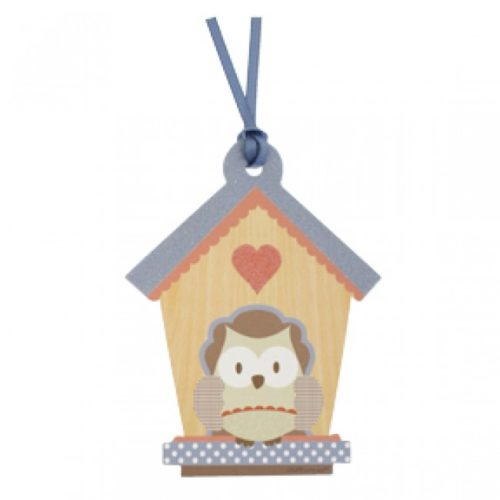 Little People Owl House Gift Tag