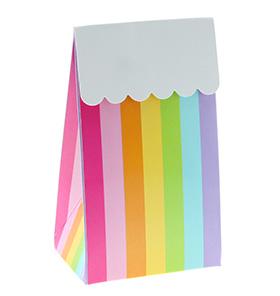 striped gift bag placeholder